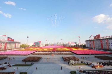 151011 - SK - KIM JONG UN - Parade und Massenkundgebung zum 70. Gründungstag der PdAK in Anwesenheit von Genossen KIM JONG UN - 12