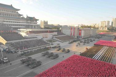 151011 - SK - KIM JONG UN - Parade und Massenkundgebung zum 70. Gründungstag der PdAK in Anwesenheit von Genossen KIM JONG UN - 18