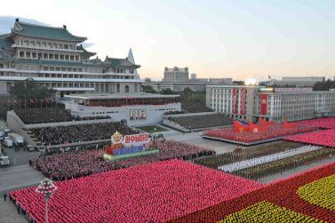 151011 - SK - KIM JONG UN - Parade und Massenkundgebung zum 70. Gründungstag der PdAK in Anwesenheit von Genossen KIM JONG UN - 25