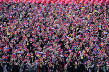 151011 - SK - KIM JONG UN - Parade und Massenkundgebung zum 70. Gründungstag der PdAK in Anwesenheit von Genossen KIM JONG UN - 29