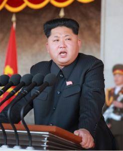 151011 - SK - KIM JONG UN - Rede des Genossen KIM JONG UN auf der Parade und Massenkundgebung der Stadt Pyongyang zum 70. Gründungstag der PdAK