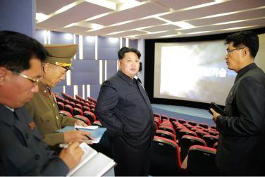 151028 - 조선의 오늘 - KIM JONG UN - Marschall KIM JONG UN besuchte den ausgezeichnet fertig gebauten Palast der Wissenschaft und Technik - 08 - 위대한 당의 전민과학기술인재화방침이 완벽하게 반영된 국보적인 건축물 경애하는 김정은동지께서 과학기술전당을 현지지도하시였다