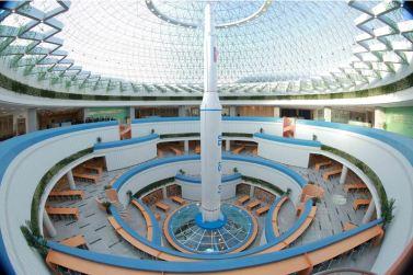 151028 - 조선의 오늘 - KIM JONG UN - Marschall KIM JONG UN besuchte den ausgezeichnet fertig gebauten Palast der Wissenschaft und Technik - 24 - 위대한 당의 전민과학기술인재화방침이 완벽하게 반영된 국보적인 건축물 경애하는 김정은동지께서 과학기술전당을 현지지도하시였다