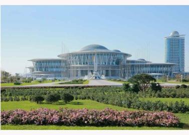 151028 - RS - KIM JONG UN - Marschall KIM JONG UN besuchte den ausgezeichnet fertig gebauten Palast der Wissenschaft und Technik - 07 - 위대한 당의 전민과학기술인재화방침이 완벽하게 반영된 국보적인 건축물 경애하는 김정은동지께서 과학기술강국 현지지도하시였다