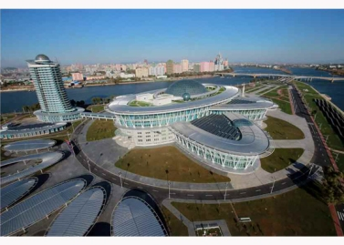 151028 - RS - KIM JONG UN - Marschall KIM JONG UN besuchte den ausgezeichnet fertig gebauten Palast der Wissenschaft und Technik - 09 - 위대한 당의 전민과학기술인재화방침이 완벽하게 반영된 국보적인 건축물 경애하는 김정은동지께서 과학기술강국 현지지도하시였다