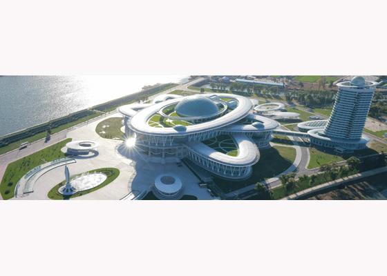 151028 - RS - KIM JONG UN - Marschall KIM JONG UN besuchte den ausgezeichnet fertig gebauten Palast der Wissenschaft und Technik - 16 - 위대한 당의 전민과학기술인재화방침이 완벽하게 반영된 국보적인 건축물 경애하는 김정은동지께서 과학기술강국 현지지도하시였다