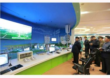 151028 - RS - KIM JONG UN - Marschall KIM JONG UN besuchte den ausgezeichnet fertig gebauten Palast der Wissenschaft und Technik - 30 - 위대한 당의 전민과학기술인재화방침이 완벽하게 반영된 국보적인 건축물 경애하는 김정은동지께서 과학기술강국 현지지도하시였다