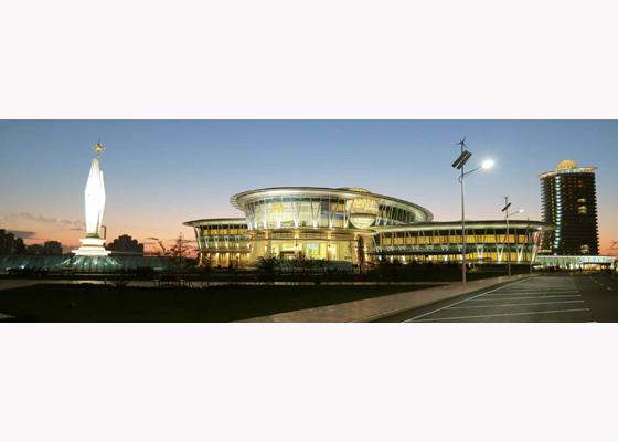151028 - RS - KIM JONG UN - Marschall KIM JONG UN besuchte den ausgezeichnet fertig gebauten Palast der Wissenschaft und Technik - 35 - 위대한 당의 전민과학기술인재화방침이 완벽하게 반영된 국보적인 건축물 경애하는 김정은동지께서 과학기술강국 현지지도하시였다