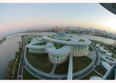 151028 - RS - KIM JONG UN - Marschall KIM JONG UN besuchte den ausgezeichnet fertig gebauten Palast der Wissenschaft und Technik - 38 - 위대한 당의 전민과학기술인재화방침이 완벽하게 반영된 국보적인 건축물 경애하는 김정은동지께서 과학기술강국 현지지도하시였다