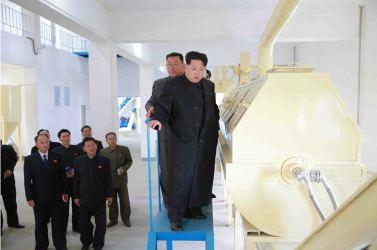 151031 - 조선의 오늘 - KIM JONG UN - Marschall KIM JONG UN besuchte den modernisierten Welszuchtbetrieb Pyongyang - 15 - 경애하는 김정은동지께서 우리 나라 양어부문의 본보기, 표준공장으로 전변된 평양메기공장을 현지지도하시였다