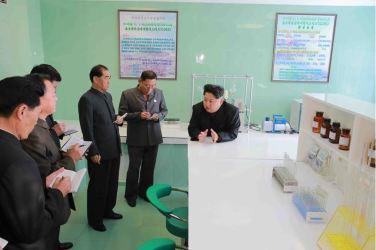 151031 - 조선의 오늘 - KIM JONG UN - Marschall KIM JONG UN besuchte den modernisierten Welszuchtbetrieb Pyongyang - 18 - 경애하는 김정은동지께서 우리 나라 양어부문의 본보기, 표준공장으로 전변된 평양메기공장을 현지지도하시였다