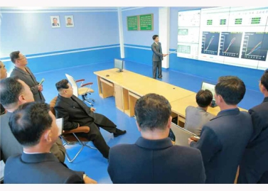 151031 - RS - KIM JONG UN - Marschall KIM JONG UN besuchte den modernisierten Welszuchtbetrieb Pyongyang - 20 - 경애하는 김정은동지께서 우리 나라 양어부문의 본보기, 표준공장으로 전변된 평양메기공장을 현지지도하시였다