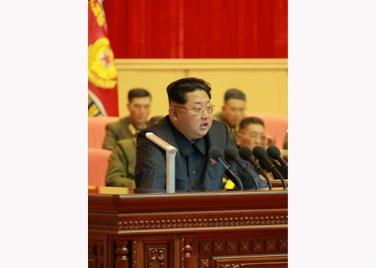 151105 - RS - KIM JONG UN - 03 - 조선인민군 제7차 군사교육일군대회 성대히 진행 경애하는 김정은동지께서 대회에 참석하시여 강령적인 연설을 하시였다