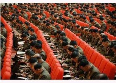 151105 - RS - KIM JONG UN - 07 - 조선인민군 제7차 군사교육일군대회 성대히 진행 경애하는 김정은동지께서 대회에 참석하시여 강령적인 연설을 하시였다
