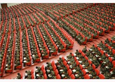 151105 - RS - KIM JONG UN - 08 - 조선인민군 제7차 군사교육일군대회 성대히 진행 경애하는 김정은동지께서 대회에 참석하시여 강령적인 연설을 하시였다