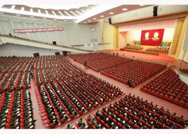 151105 - RS - KIM JONG UN - 09 - 조선인민군 제7차 군사교육일군대회 성대히 진행 경애하는 김정은동지께서 대회에 참석하시여 강령적인 연설을 하시였다
