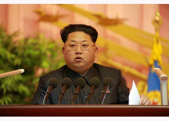 151105 - RS - KIM JONG UN - 10 - 조선인민군 제7차 군사교육일군대회 성대히 진행 경애하는 김정은동지께서 대회에 참석하시여 강령적인 연설을 하시였다