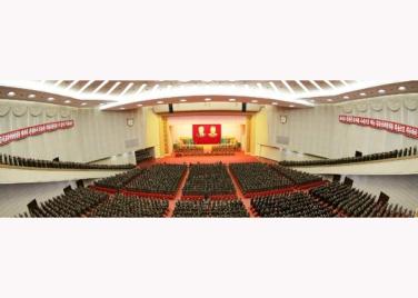 151105 - RS - KIM JONG UN - 21 - 조선인민군 제7차 군사교육일군대회 성대히 진행 경애하는 김정은동지께서 대회에 참석하시여 강령적인 연설을 하시였다