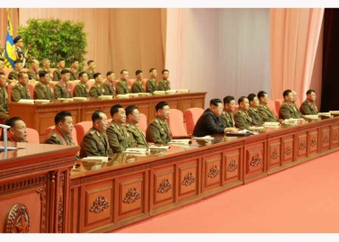151105 - RS - KIM JONG UN - 22 - 조선인민군 제7차 군사교육일군대회 성대히 진행 경애하는 김정은동지께서 대회에 참석하시여 강령적인 연설을 하시였다