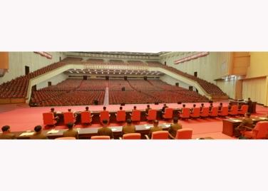 151105 - RS - KIM JONG UN - 28 - 조선인민군 제7차 군사교육일군대회 성대히 진행 경애하는 김정은동지께서 대회에 참석하시여 강령적인 연설을 하시였다