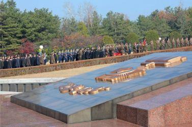 151112 - 조선의 오늘 - KIM JONG UN - Marschall KIM JONG UN nahm an der Trauerfeier für Genossen Ri Ul Sol teil - 05 - 고 리을설동지의 장의식 엄숙히 거행 우리 당과 국가, 군대의 최고령도자이신 경애하는 김정은동지께서 장의식에 참가하시였다