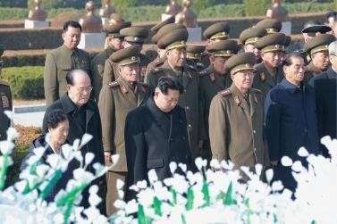 151112 - 조선의 오늘 - KIM JONG UN - Marschall KIM JONG UN nahm an der Trauerfeier für Genossen Ri Ul Sol teil - 07 - 고 리을설동지의 장의식 엄숙히 거행 우리 당과 국가, 군대의 최고령도자이신 경애하는 김정은동지께서 장의식에 참가하시였다