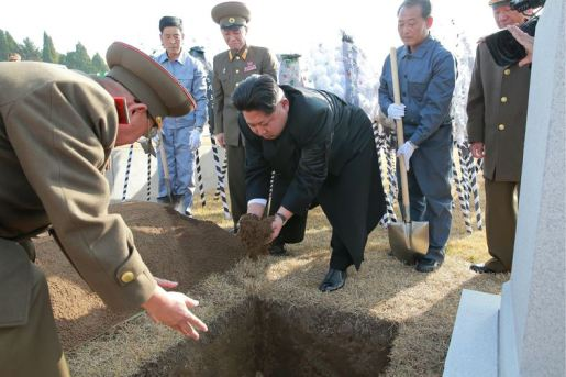 151112 - 조선의 오늘 - KIM JONG UN - Marschall KIM JONG UN nahm an der Trauerfeier für Genossen Ri Ul Sol teil - 08 - 고 리을설동지의 장의식 엄숙히 거행 우리 당과 국가, 군대의 최고령도자이신 경애하는 김정은동지께서 장의식에 참가하시였다