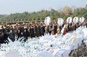 151112 - 조선의 오늘 - KIM JONG UN - Marschall KIM JONG UN nahm an der Trauerfeier für Genossen Ri Ul Sol teil - 10 - 고 리을설동지의 장의식 엄숙히 거행 우리 당과 국가, 군대의 최고령도자이신 경애하는 김정은동지께서 장의식에 참가하시였다