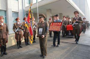 151112 - 조선의 오늘 - KIM JONG UN - Marschall KIM JONG UN nahm an der Trauerfeier für Genossen Ri Ul Sol teil - 12 - 고 리을설동지의 장의식 엄숙히 거행 우리 당과 국가, 군대의 최고령도자이신 경애하는 김정은동지께서 장의식에 참가하시였다