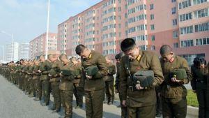 151112 - 조선의 오늘 - KIM JONG UN - Marschall KIM JONG UN nahm an der Trauerfeier für Genossen Ri Ul Sol teil - 17 - 고 리을설동지의 장의식 엄숙히 거행 우리 당과 국가, 군대의 최고령도자이신 경애하는 김정은동지께서 장의식에 참가하시였다
