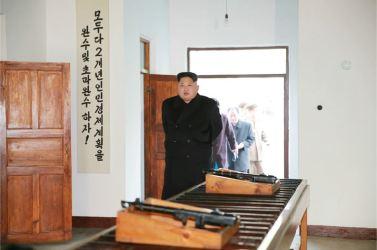 151210 - 조선의 오늘 - KIM JONG UN - Marschall KIM JONG UN besichtigte die Historische Revolutionäre Gedenkstätte Pyongchon - 02 - 경애하는 김정은동지께서 새로 개건된 평천혁명사적지를 현지지도하시였다