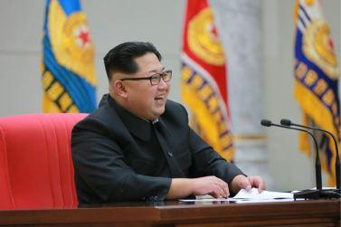 160110 - 조선의 오늘 - KIM JONG UN - Marschall KIM JONG UN hielt im Ministerium für Volksstreitkräfte eine programmatische Rede - 05 - 경애하는 김정은동지께서 새해에 즈음하여 인민무력부를 축하방문하시고 강령적인 연설을 하시였다