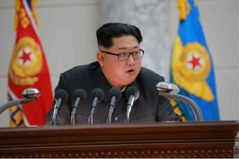 160110 - RS - KIM JONG UN - Marschall KIM JONG UN hielt im Ministerium für Volksstreitkräfte eine programmatische Rede - 04 - 경애하는 김정은동지께서 새해에 즈음하여 인민무력부를 축하방문하시고 강령적인 연설을 하시였다