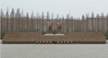 160110 - RS - KIM JONG UN - Marschall KIM JONG UN hielt im Ministerium für Volksstreitkräfte eine programmatische Rede - 06 - 경애하는 김정은동지께서 새해에 즈음하여 인민무력부를 축하방문하시고 강령적인 연설을 하시였다