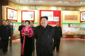 160120 - 조선의 오늘 - KIM JONG UN - Marschall KIM JONG UN besichtigte das neu gebaute Historische Museum der Jugendbewegung - 02 - 경애하는 김정은동지께서 새로 건설된 청년운동사적관을 현지지도하시였다