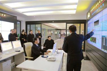 160123 - 조선의 오늘 - KIM JONG UN - Marschall KIM JONG UN besichtigte das Lebensmittelkombinat für Sportler Kumkop - 02 - 경애하는 김정은동지께서 현대적으로 개건된 금컵체육인종합식료공장을 현지지도하시였다
