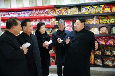 160123 - 조선의 오늘 - KIM JONG UN - Marschall KIM JONG UN besichtigte das Lebensmittelkombinat für Sportler Kumkop - 10 - 경애하는 김정은동지께서 현대적으로 개건된 금컵체육인종합식료공장을 현지지도하시였다