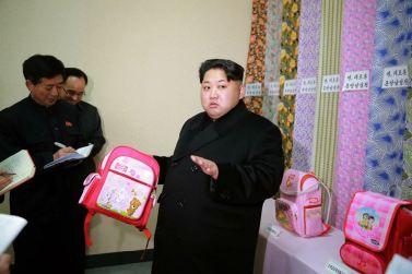 160128 - 조선의 오늘 - KIM JONG UN - Marschall KIM JONG UN besichtigte die Pyongyanger Textilfabrik 'Kim Jong Suk' - 05 - 경애하는 김정은동지께서 김정숙평양방직공장을 현지지도하시였다