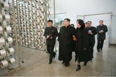 160128 - 조선의 오늘 - KIM JONG UN - Marschall KIM JONG UN besichtigte die Pyongyanger Textilfabrik 'Kim Jong Suk' - 10 - 경애하는 김정은동지께서 김정숙평양방직공장을 현지지도하시였다