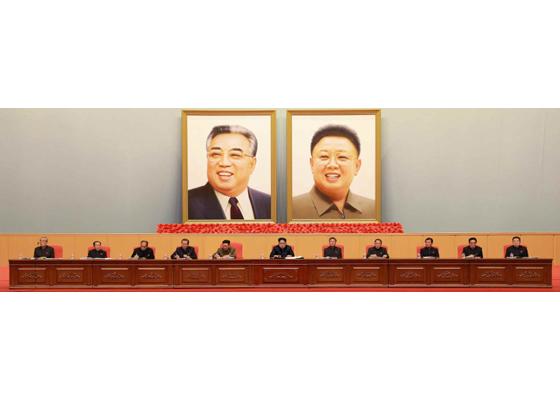 160204 - RS - KIM JONG UN - Marschall KIM JONG UN leitete eine erweiterte Sitzung der gemeinsamen Konferenz des ZK der PdAK und des KVA-Komitees - 06 - 조선로동당 제1비서이신 경애하는 김정은동지의 지도밑에 조선로동당 중앙위원회, 조선로동당 조선인민군위원회 련합회의 확대회의가 진행되였다