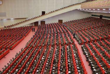 160204 - SK - KIM JONG UN - Marschall KIM JONG UN leitete eine erweiterte Sitzung der gemeinsamen Konferenz des ZK der PdAK und des KVA-Komitees - 02 - 조선로동당 제1비서이신 경애하는 김정은동지의 지도밑에 조선로동당 중앙위원회, 조선로동당 조선인민군위원회 련합회의 확대회의가 진행되였다