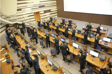 """160207 - 조선의 오늘 - Marschall KIM JONG UN erteilte Befehl zum zum Start des Erdbeobachtungssatelliten """"Kwangmyongsong 4"""" - 07 - 우리 당과 국가, 군대의 최고령도자 김정은동지께서 지구관측위성 《광명성-4》호를 발사할데 대한 명령 하달"""
