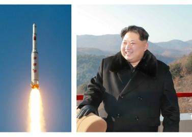 160208 - RS - KIM JONG UN - Start des Erdebeobachtungssatelliten 'Kwangmyongsong 4' - 01 - 조선민주주의인민공화국 국가우주개발국 보도 지구관측위성 《광명성-4》호 성과적으로 발사