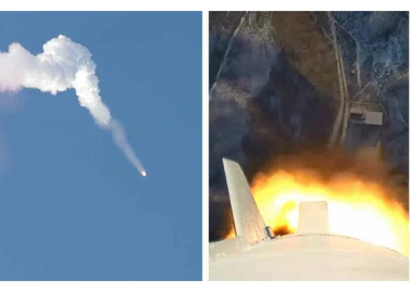 160208 - RS - KIM JONG UN - Start des Erdebeobachtungssatelliten 'Kwangmyongsong 4' - 07 - 조선민주주의인민공화국 국가우주개발국 보도 지구관측위성 《광명성-4》호 성과적으로 발사