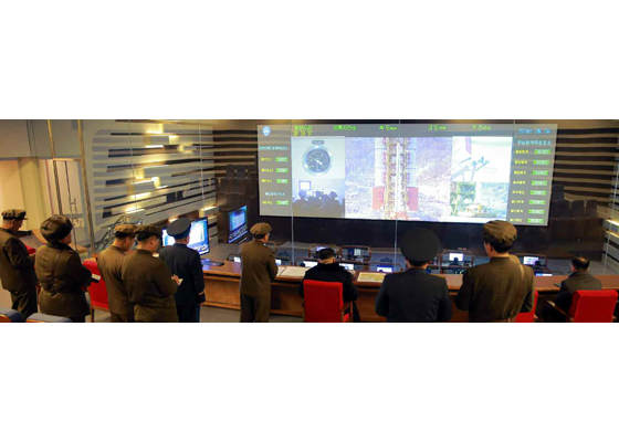 160208 - RS - KIM JONG UN - Start des Erdebeobachtungssatelliten 'Kwangmyongsong 4' - 09 - 조선민주주의인민공화국 국가우주개발국 보도 지구관측위성 《광명성-4》호 성과적으로 발사