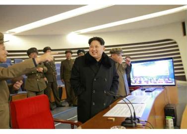 160208 - RS - KIM JONG UN - Start des Erdebeobachtungssatelliten 'Kwangmyongsong 4' - 12 - 조선민주주의인민공화국 국가우주개발국 보도 지구관측위성 《광명성-4》호 성과적으로 발사
