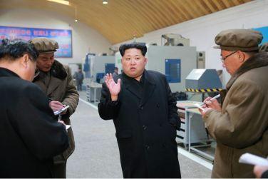 160302 - 조선의 오늘 - KIM JONG UN - Marschall KIM JONG UN besuchte das Maschinenwerk Thaesong - 05 - 경애하는 김정은동지께서 태성기계공장을 현지지도하시고 현대화과업을 제시하시였다.pdf