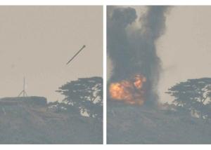 160304 - RS - KIM JONG UN - 01 - 경애하는 김정은동지께서 신형대구경방사포시험사격을 지도하시였다