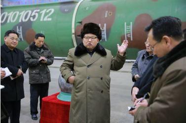 160309 - 조선의 오늘 - KIM JONG UN - Marschall KIM JONG UN besuchte die Wissenschaftler und Techniker für Kernwaffen - 01 - 경애하는 김정은동지께서 핵무기연구부문의 과학자, 기술자들을 만나시고 핵무기병기화사업을 지도하시였다