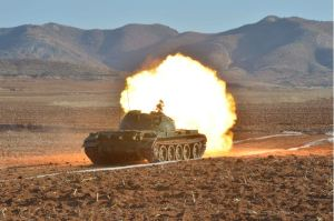 160311 - 조선의 오늘 - KIM JONG UN - Marschall KIM JONG UN besuchte einen Panzerwettbewerb der Armee - 09 - 경애하는 김정은동지께서 《조선인민군 땅크병경기대회-2016》을 보시였다